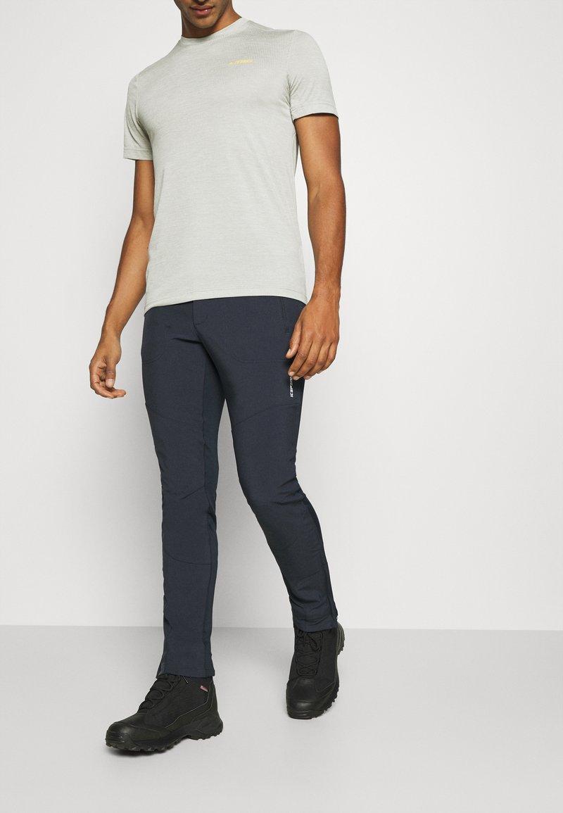 Icepeak - DORR - Pantalon classique - dark blue