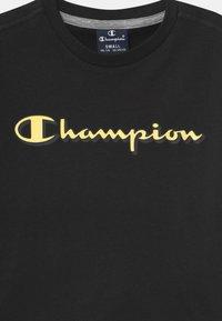 Champion - LEGACY GRAPHIC SHOP SET UNISEX - Short de sport - black - 3