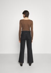 House of Dagmar - ALBA - Jeans a sigaretta - washed black - 2