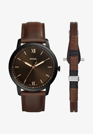 SET THE MINIMALIST - Reloj - braun