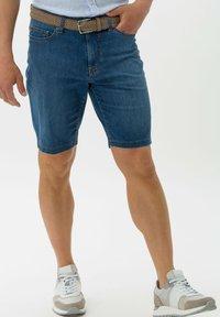 BRAX - STYLE BALI - Denim shorts - blue - 0