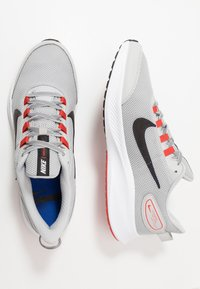 Nike Performance - RUNALLDAY 2 - Neutral running shoes - grey fog/black/chile red/racer blue - 1