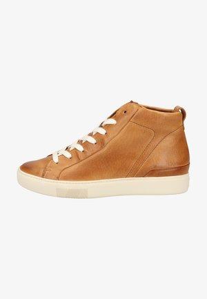 Sneakers high - mittelbraun 017