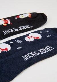Jack & Jones - JACORG SOCKS TRUNKS GIFT 4 PACK - Underkläder - black/navy blazer - 3
