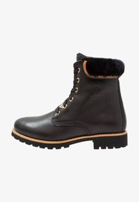 Panama Jack - IGLOO TRAVELLING - Lace-up ankle boots - black - 1