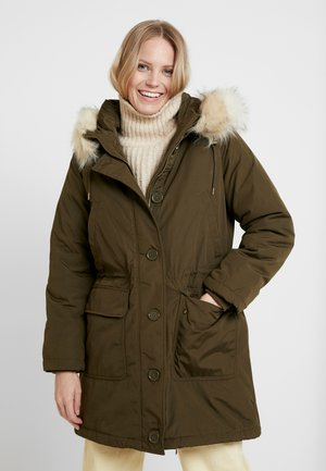 LUXE - Winter coat - olive