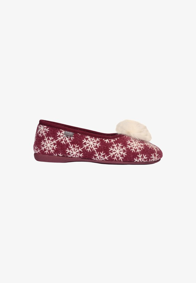 SNOWY SNOWY - Ballet pumps - rot