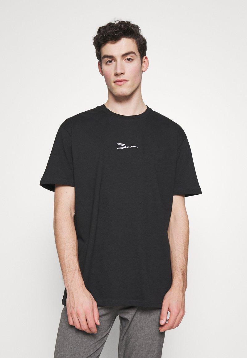 Zign - T-shirt imprimé - black