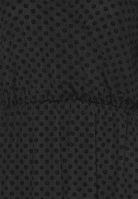 Dorothy Perkins Tall - WRAP DOBBY DRESS - Cocktail dress / Party dress - black - 6