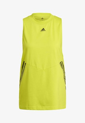OVERSIZED PRIMEBLUE SPORTS TANK TOP - Toppe - yellow