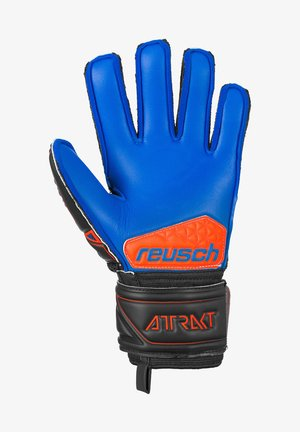 Gloves - blck/shock. orange/deep b