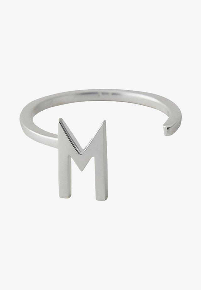 RING M - Ringe - silver