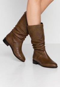 Dune London - ROSALINDA - Vysoká obuv - tan - 0