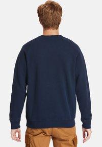 Timberland - EXETER RIVER BRUSHED BACK - Sweatshirt - dark sapphire - 2
