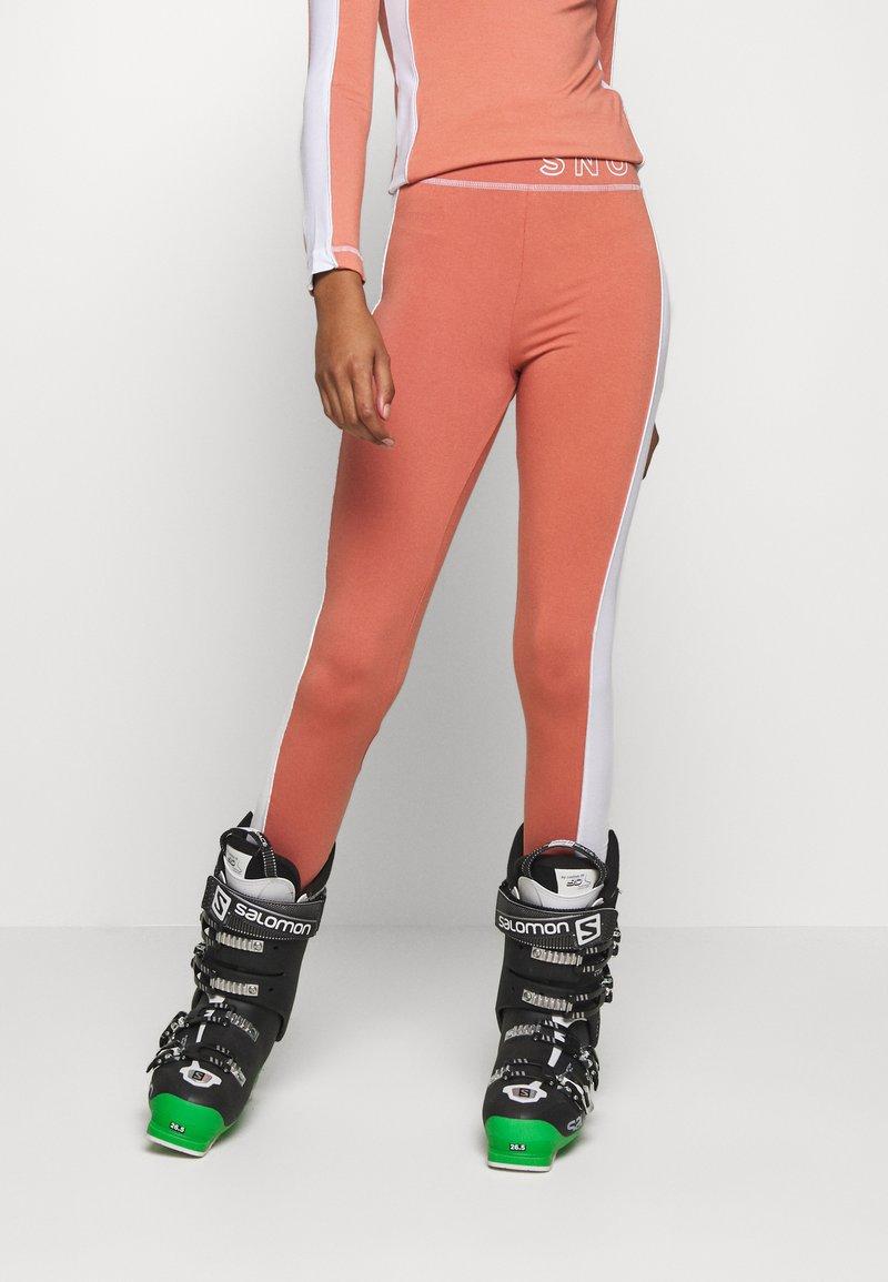 Topshop - SNO THERMAL  - Leggings -  pink