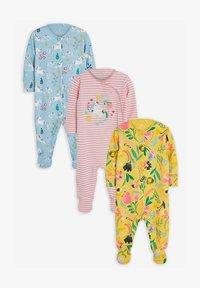 Next - 3 PACK  - Sleep suit - pink - 0