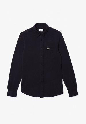 SLIM FIT - Shirt - navy blau