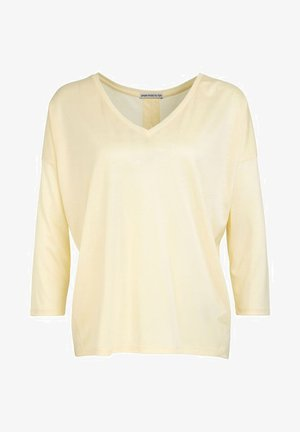 VENJA - Long sleeved top - yellow