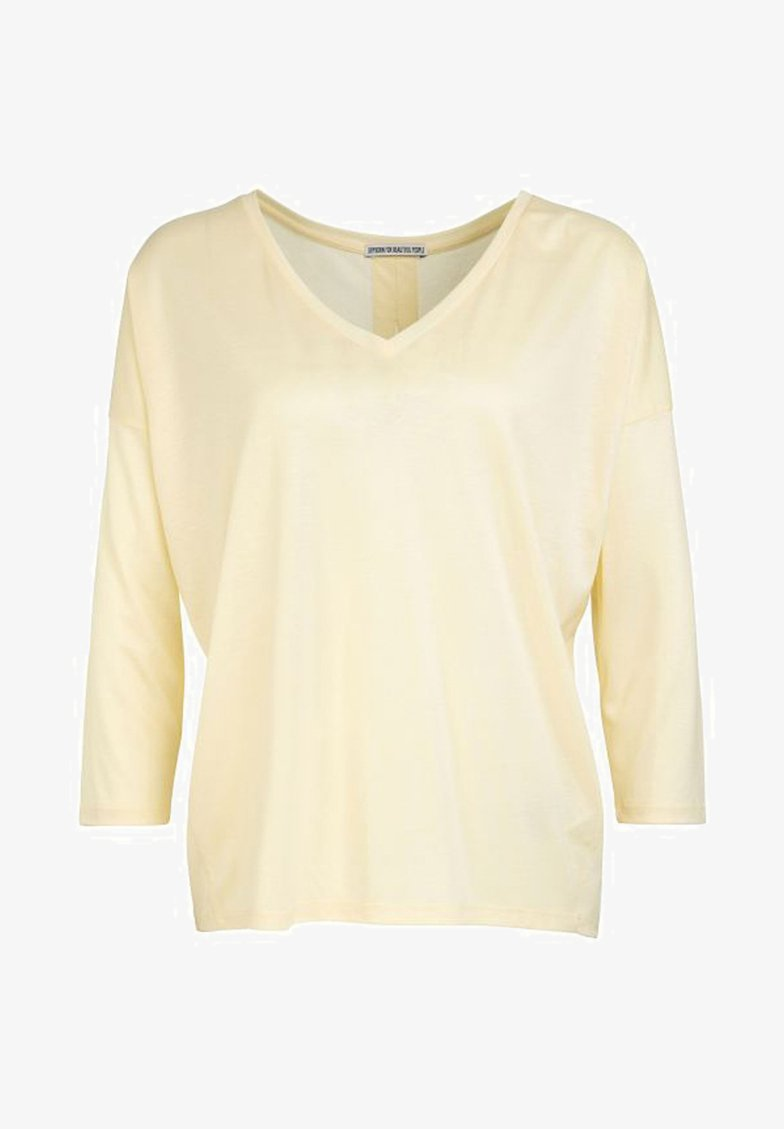 DRYKORN - VENJA - Long sleeved top - yellow