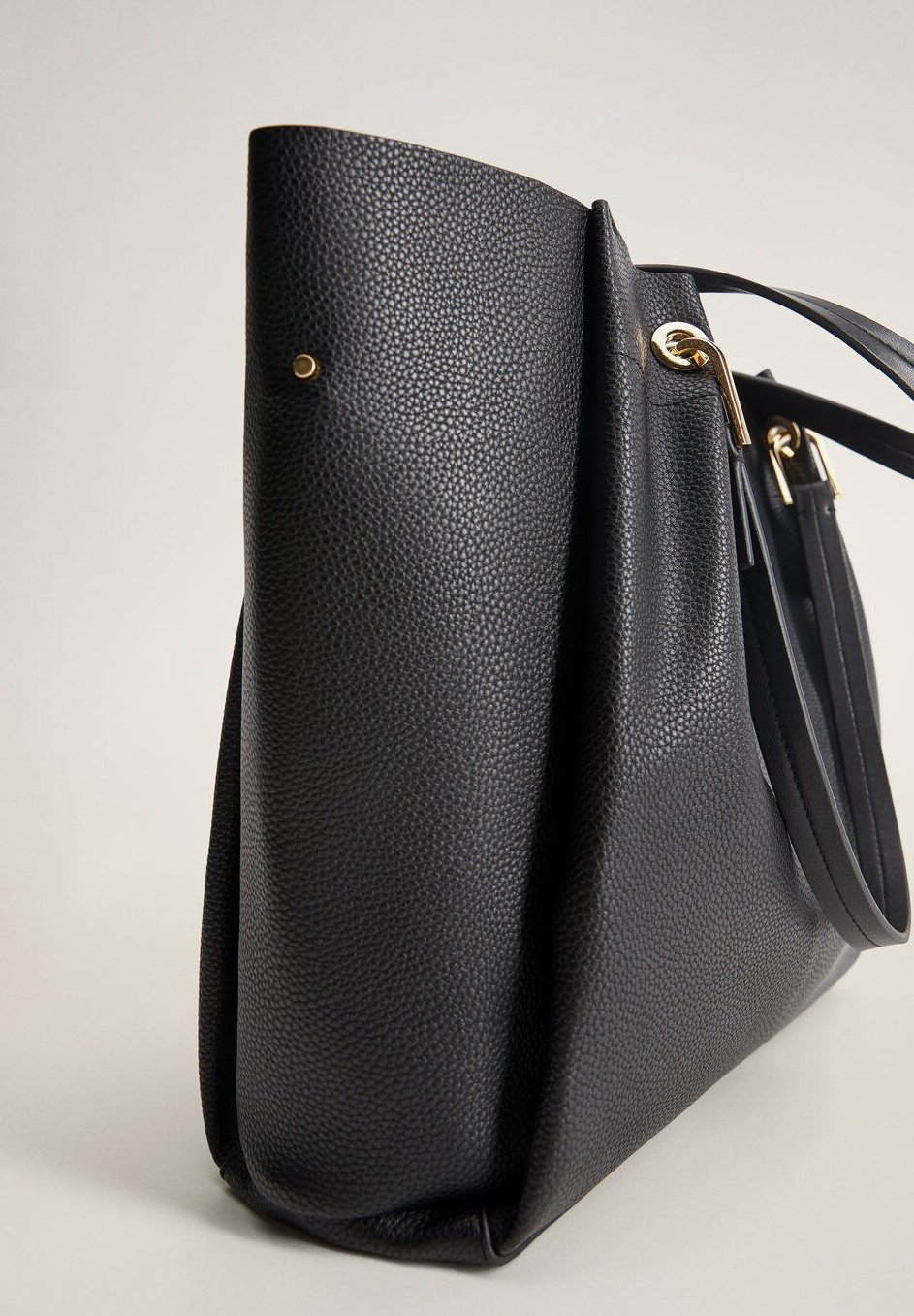 Mango Shopping Bag - Schwarz