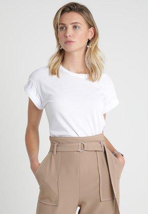 ALVA PLAIN TEE - T-shirt basic - white