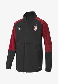 Puma - AC MILAN - Club wear - black-tango red - 0
