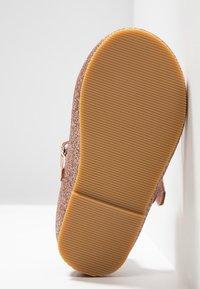 Friboo - Ankle strap ballet pumps - rose gold - 5