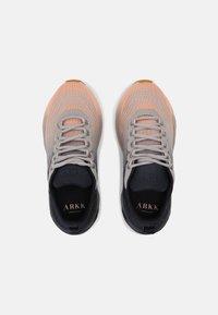 ARKK Copenhagen - AVORY UNISEX - Trainers - faded soft peach/midnight gum - 3