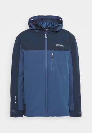 WENTWOOD 2-IN-1 - Hardshellová bunda - dark blue