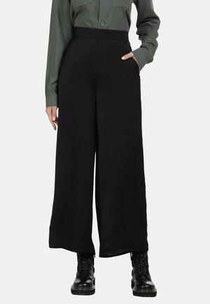 SOMMERHOSE - Trousers - schwarz
