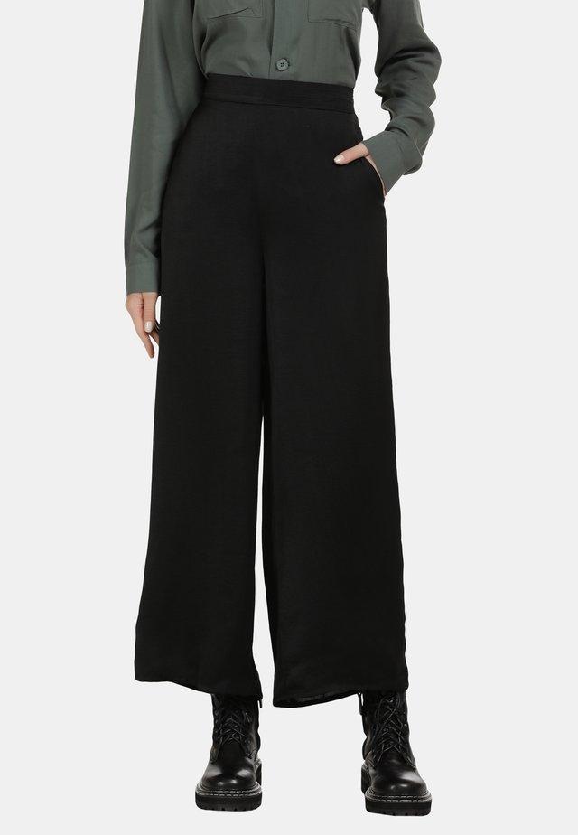 SOMMERHOSE - Pantaloni - schwarz
