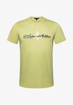 VOILES D'ANTIBES  - Print T-shirt - light green