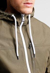 Pier One - Summer jacket - olive - 3
