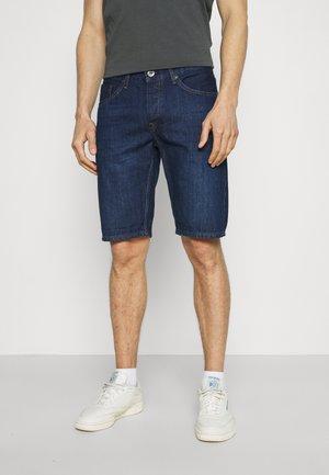 HARROW - Denim shorts - dark blue denim