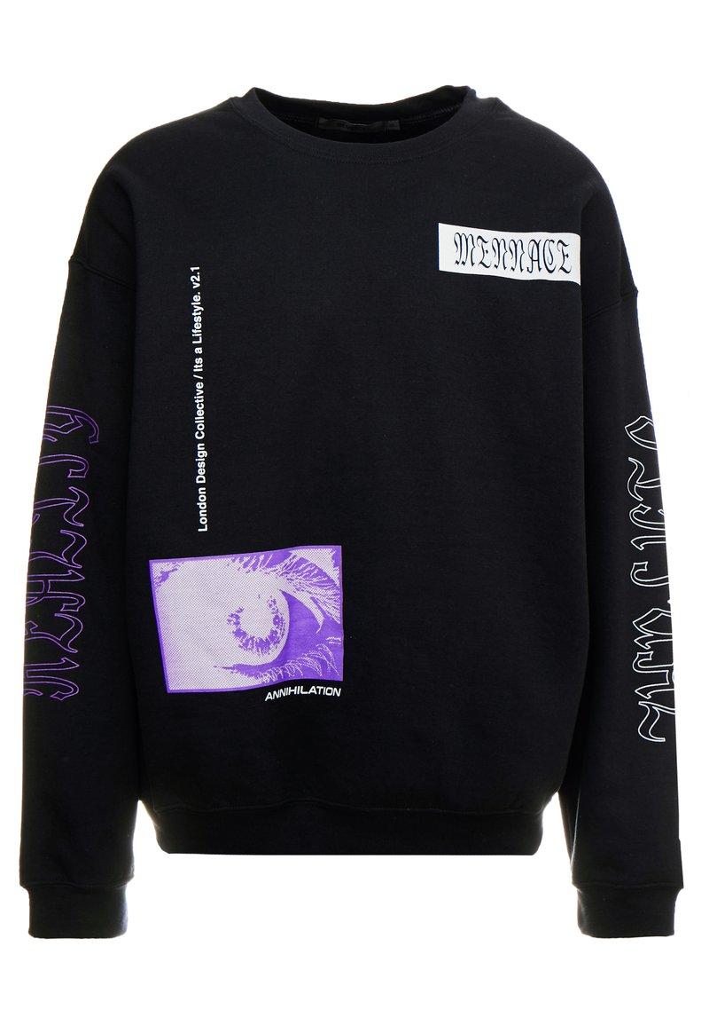 Mennace - REALITY  - Sweatshirt - black