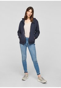 s.Oliver - Zip-up sweatshirt - blue - 1