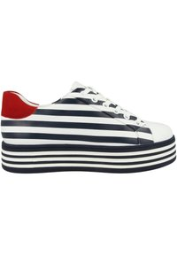 Gerry Weber - Sneakers laag - white blue - 4