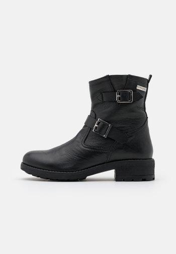 LOOKY - Cowboy/biker ankle boot - noir