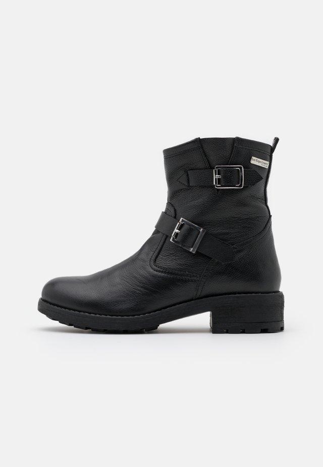 LOOKY - Cowboy- / bikerstøvlette - noir