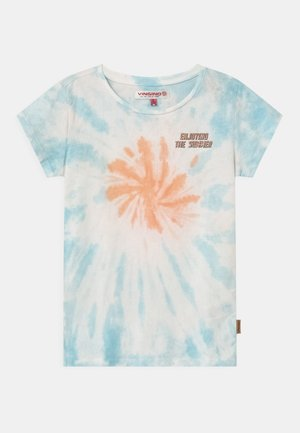 HETTIE - Print T-shirt - coral pink