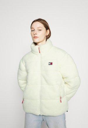 MODERN PUFFER - Winter jacket - ivory