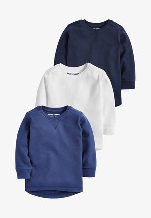3 PACK - Long sleeved top - blue