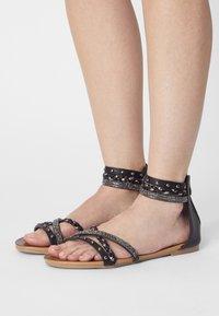 KHARISMA - Sandals - medusa nero - 0