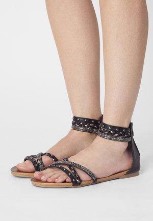 Sandals - medusa nero