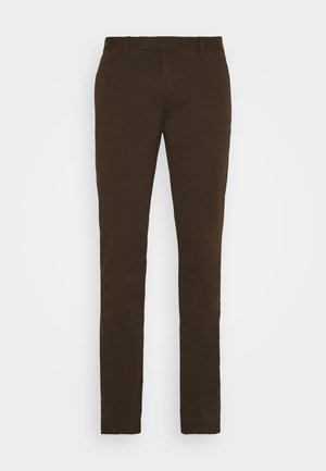 FLAT PANT - Spodnie materiałowe - mohican brown