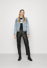 edc by Esprit - JACKET - Denim jacket - blue denim - 1