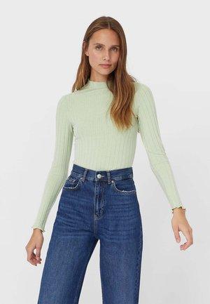 GEWELLTES - Long sleeved top - green