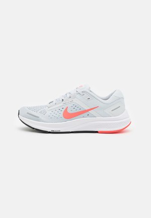 AIR ZOOM STRUCTURE 23 - Stabilty running shoes - pure platinum/flash crimson/light armory blue/white/black