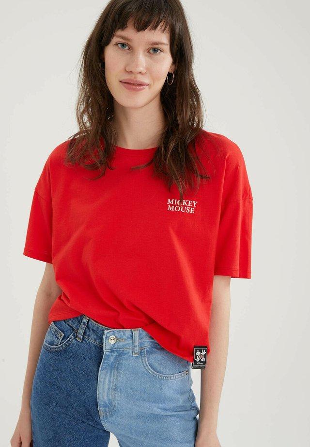 DISNEY - T-shirt print - red