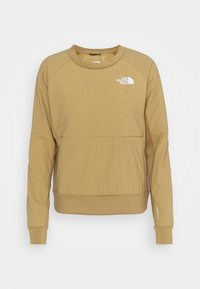 The North Face - W VENTRIX LT HYBRID PULLOVER - Outdoorjakke - moab khaki - 3
